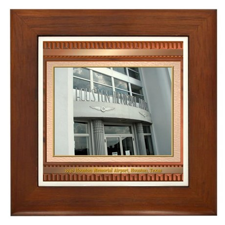 1940 Airport #1 Framed Tile