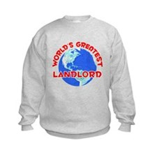 World's Greatest Landl.. (F) Sweatshirt