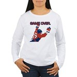 """Game Over"" Women's Long Sleeve T"