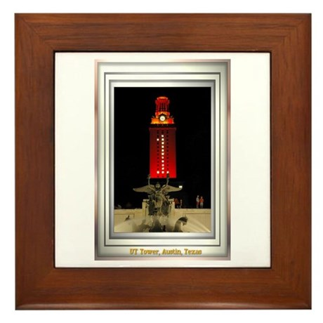 UT Tower Framed Tile