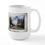 Austin Skyline #4 Large Mug