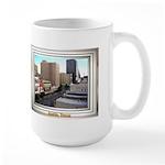 Austin Skyline #3 Large Mug