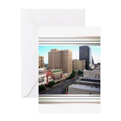 Austin Skyline #3 Greeting Card