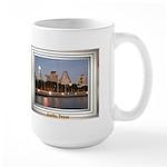 Austin Skyline #1 Large Mug