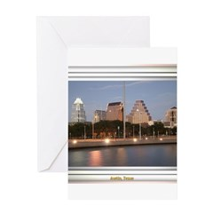 Austin Skyline #1 Greeting Card