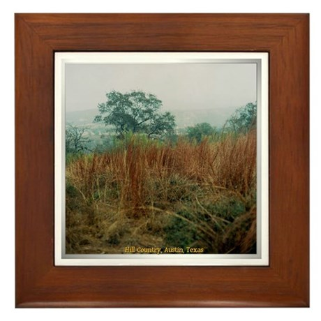 Hill Country Framed Tile