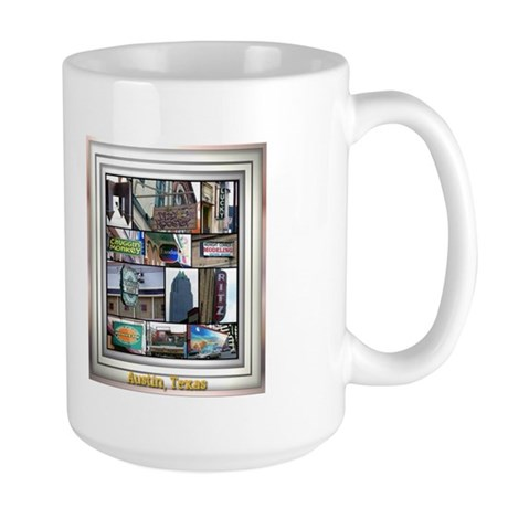 Austin Collage Large Mug