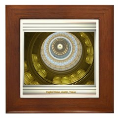 Capitol Dome Framed Tile