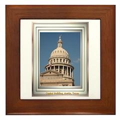 State Capitol #3 Framed Tile