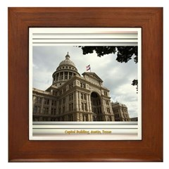 State Capitol #2 Framed Tile