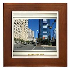 6th Street Framed Tile