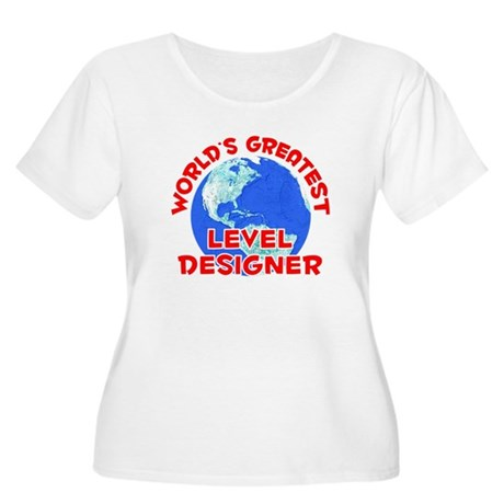 World's Greatest Level.. (F) Women's Plus Size Sco