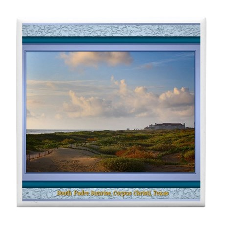South Padre Island Tile Coaster