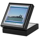 Corpus Christi Skyline Keepsake Box