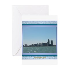 Corpus Christi Skyline Greeting Card