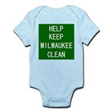 Help Keep Milwaukee Clean Infant Creeper