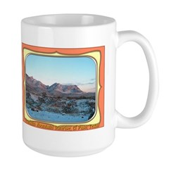 Frankline Mountain Sunrise Large Mug