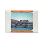 Frankline Mountain Sunrise Rectangle Magnet