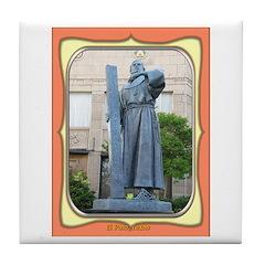 El Paso Founder Tile Coaster