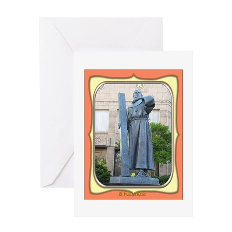 El Paso Founder Greeting Card