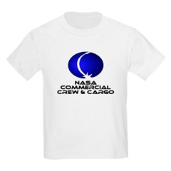 Commercial Crew & Cargo Kids Light T-Shirt