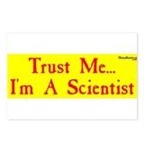 Trust Me I Am a Scientist Postcards (Package of 8)