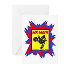 """""""MX Super Mom"""" Greeting Cards (Pk of 20)"""