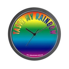 #0044 Taste My Rainbow Wall Clock