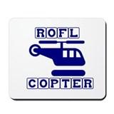 Roflcopter Mousepad