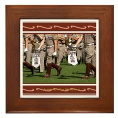 A&M #4 Framed Tile