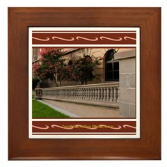 A&M #3 Framed Tile