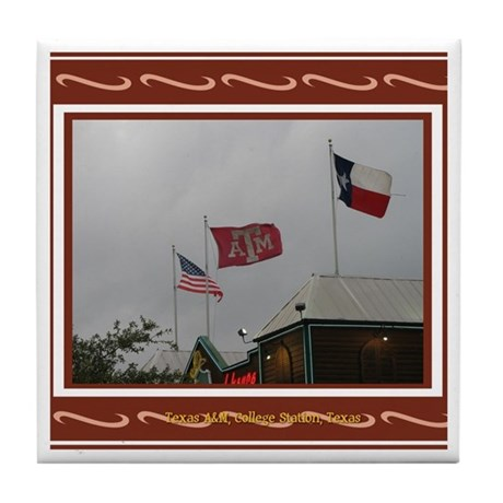A&M #2 Tile Coaster