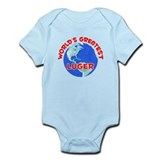 World's Greatest Luger (F)  Baby Onesie