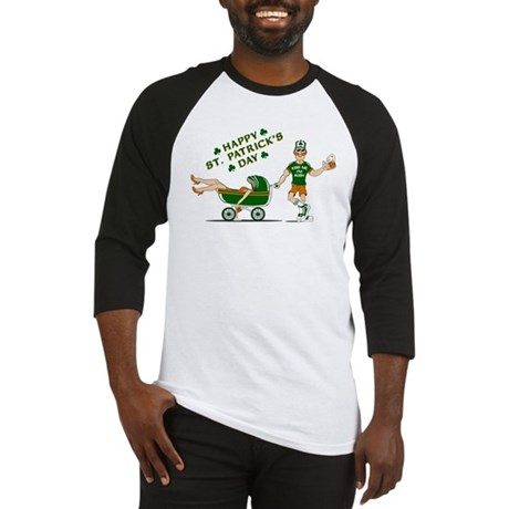Happy St. Patrick's Day Baseball Jersey