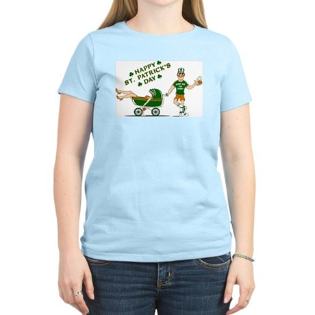 Happy St. Patrick's Day Women's Light T-Shirt