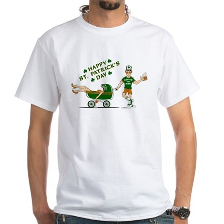 Happy St. Patrick's Day White T-Shirt
