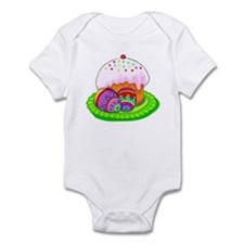 Cupcake and Eggs Infant Bodysuit