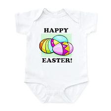Happy Easter Eggs Infant Bodysuit