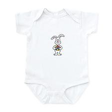 Cute Easter Bunny Infant Bodysuit