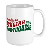 Proud Italian and Portuguese Coffee Mug