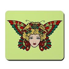 Butterfly Woman Mousepad