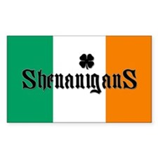 """Shenanigans"" Rectangle Decal"