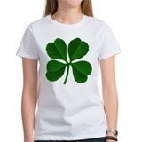 Lucky Four Leaf Clover Irish Tee