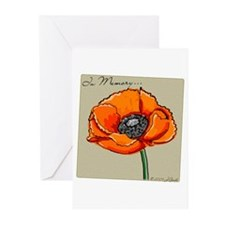 Memorial Poppy Greeting Cards (Pk of 10)