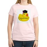 Ducky Congratulations! Women's Pink T-Shirt