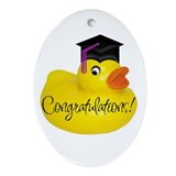Ducky Congratulations! Keepsake (Oval)