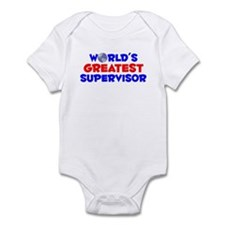 World's Greatest Super.. (A) Infant Bodysuit