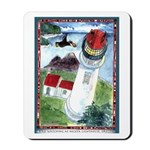 Bird Watching @ Heceta Lighthouse Mousepad