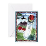 Bird Watching @ Heceta Lighthouse Greeting Card