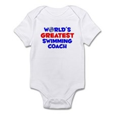 World's Greatest Swimm.. (A) Infant Bodysuit